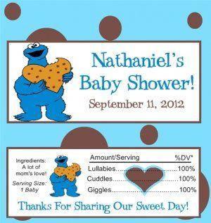 Gift Idea   Cookie Monster Baby Shower   Pinterest   Monster Baby Showers, Cookie  Monster And Babies