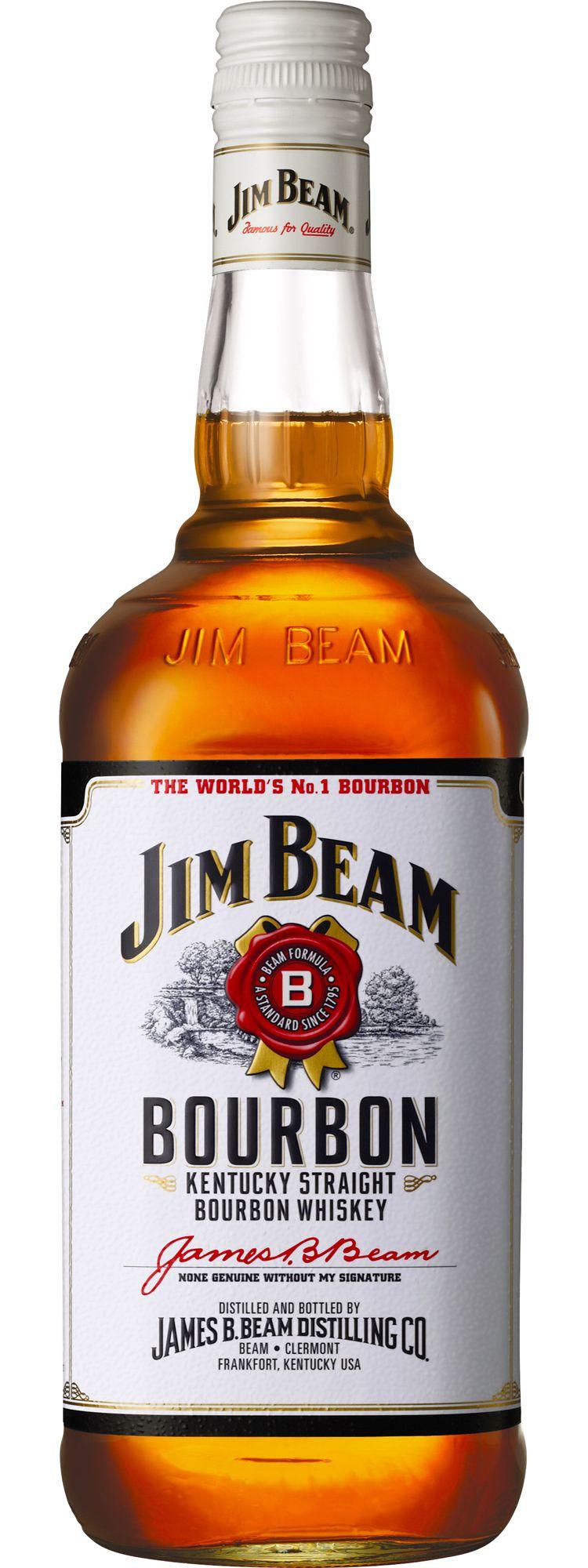 Jim Beam White Label Bourbon Bourbon whiskey, Bourbon