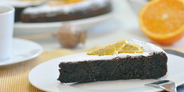 agasaat | Poppy seed and orange brownie