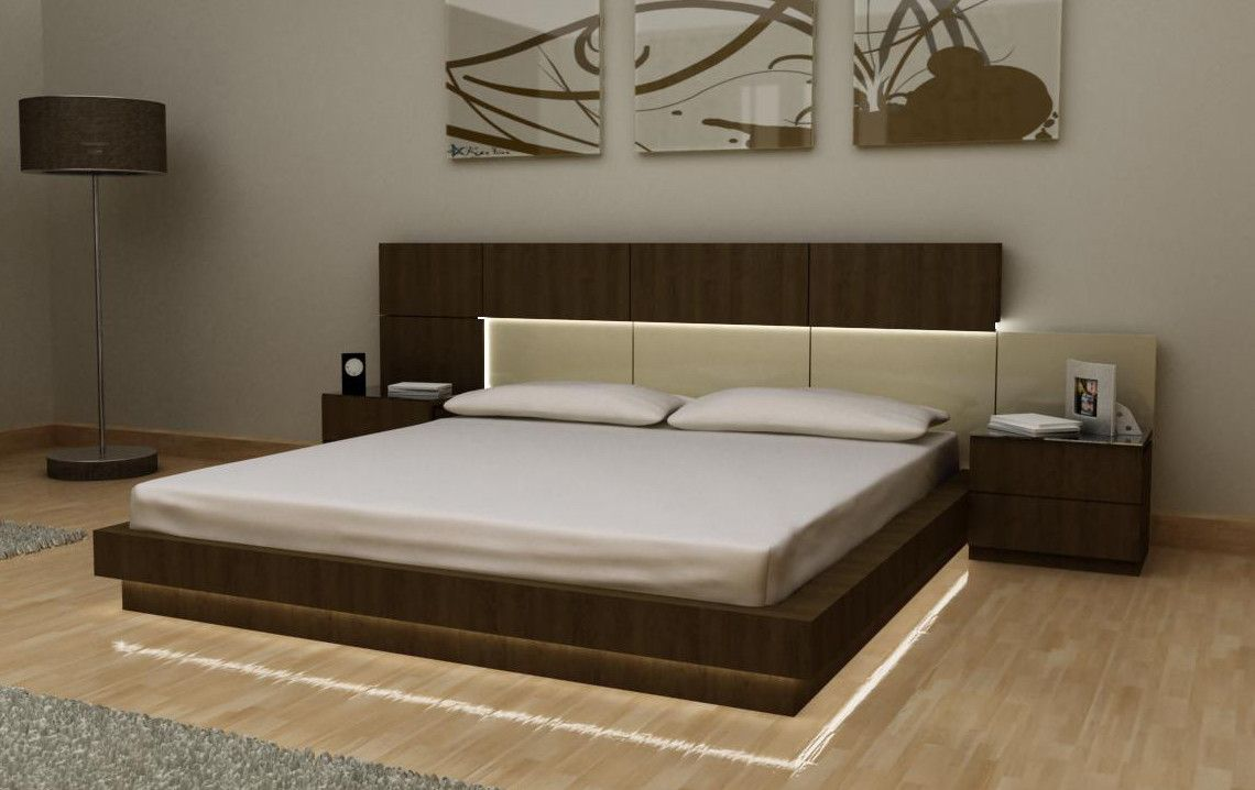 Maya Modern Bedroom - 9D Model  Bed design modern, Box bed design