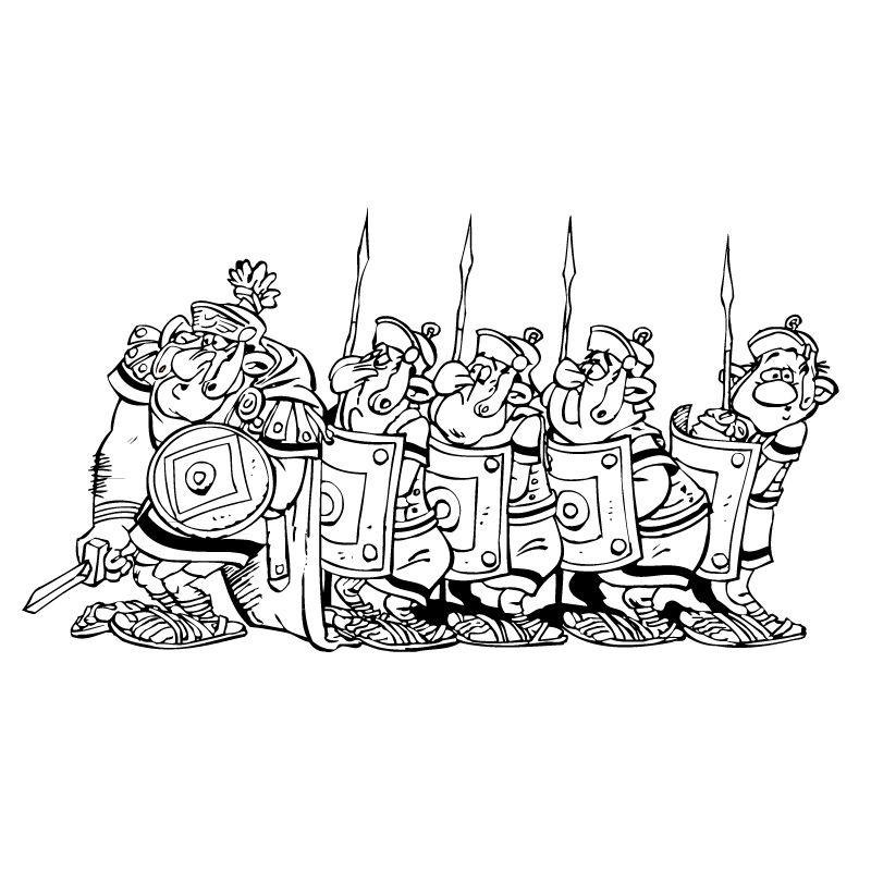 Tim Struppi 3 Gratis Malvorlage In Comic: Astérix Et Obélix