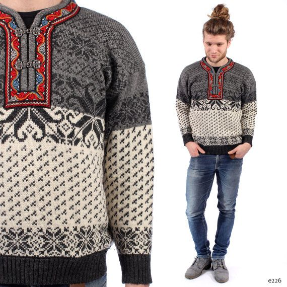 Traditional Norvegian Sweater Mens Nordic Jumper Wool Winter Etsy Sweaters Norwegian Sweater Men Norwegian Sweater