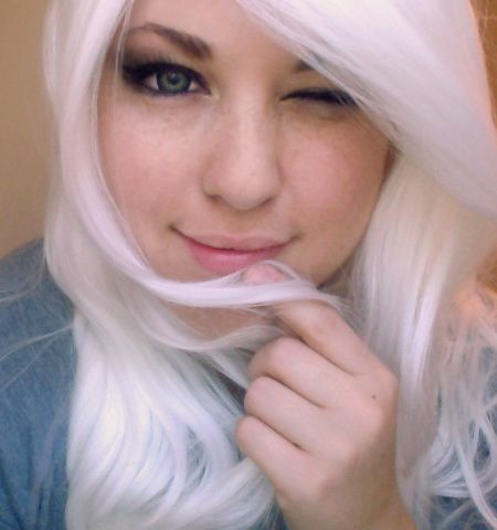 I Think I Should Dye My Hair White Or A Super Light Blonde