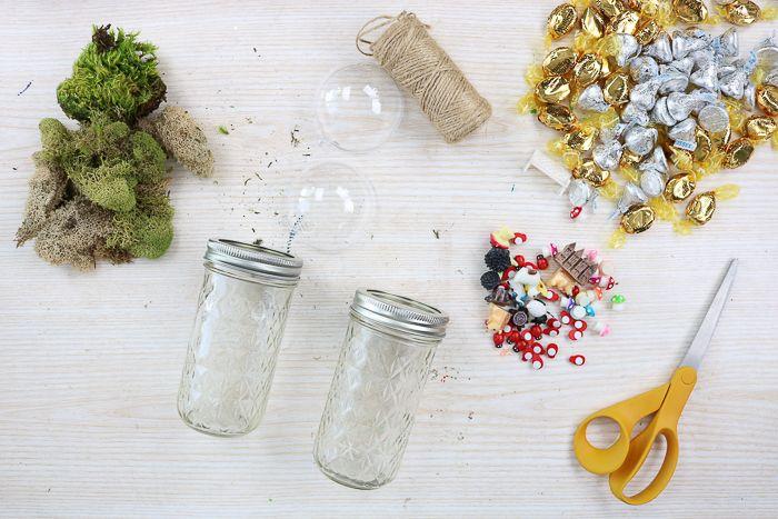 Mason Jar Gift Ideas with a Fairy Garden Top images