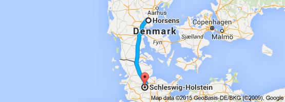 From Horsens Denmark To SchleswigHolstein Germany werViking