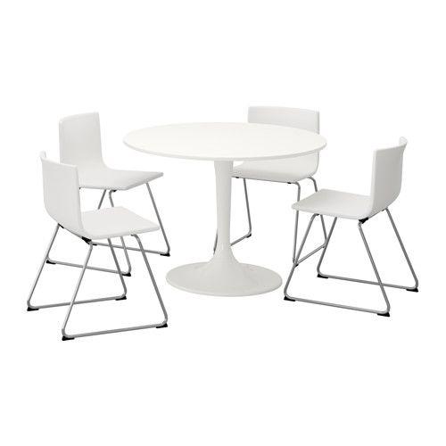 DOCKSTA / BERNHARD Mesa con 4 sillas - IKEA | Apartamentos ...