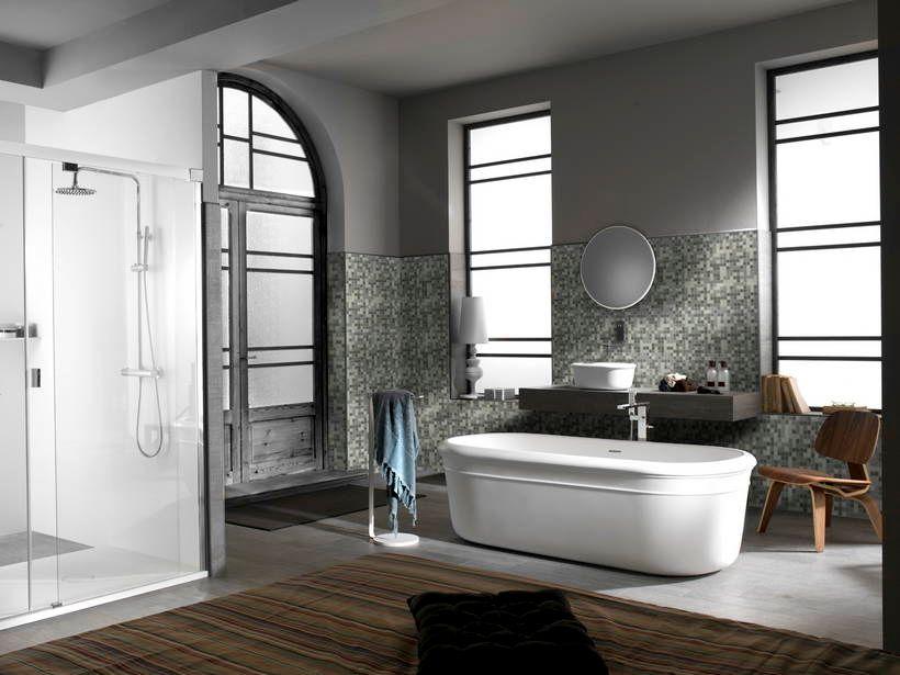 Kartell Bagno ~ Mosaico bagno bianco e nero mosaici pinterest