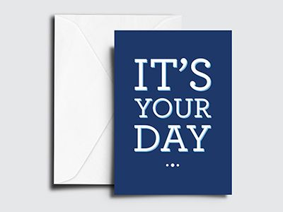 Corporate Birthday Card Design For Financial Firm Birthday Card