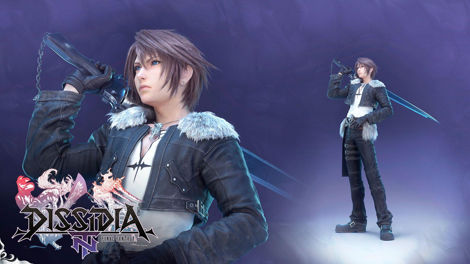 Videogame Dissidia Final Fantasy Nt Final Fantasy Squall Leonhart