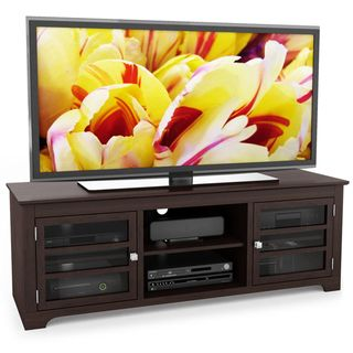 Sonax west lake wood dark espresso 60 inch entertainment center sonax west lake wood dark espresso 60 inch entertainment center 60 tv component bench brown sciox Images