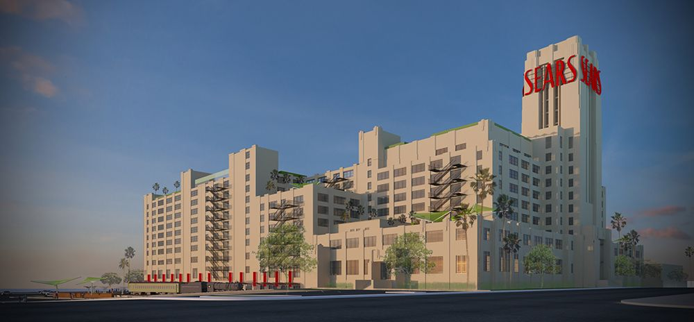 The Eastside Boyle Heights Rendering Of Proposed Sears Boyle