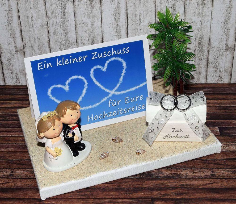 Details Zu Geldgeschenk Hochzeitsreise Flitterwochen Brautpaar