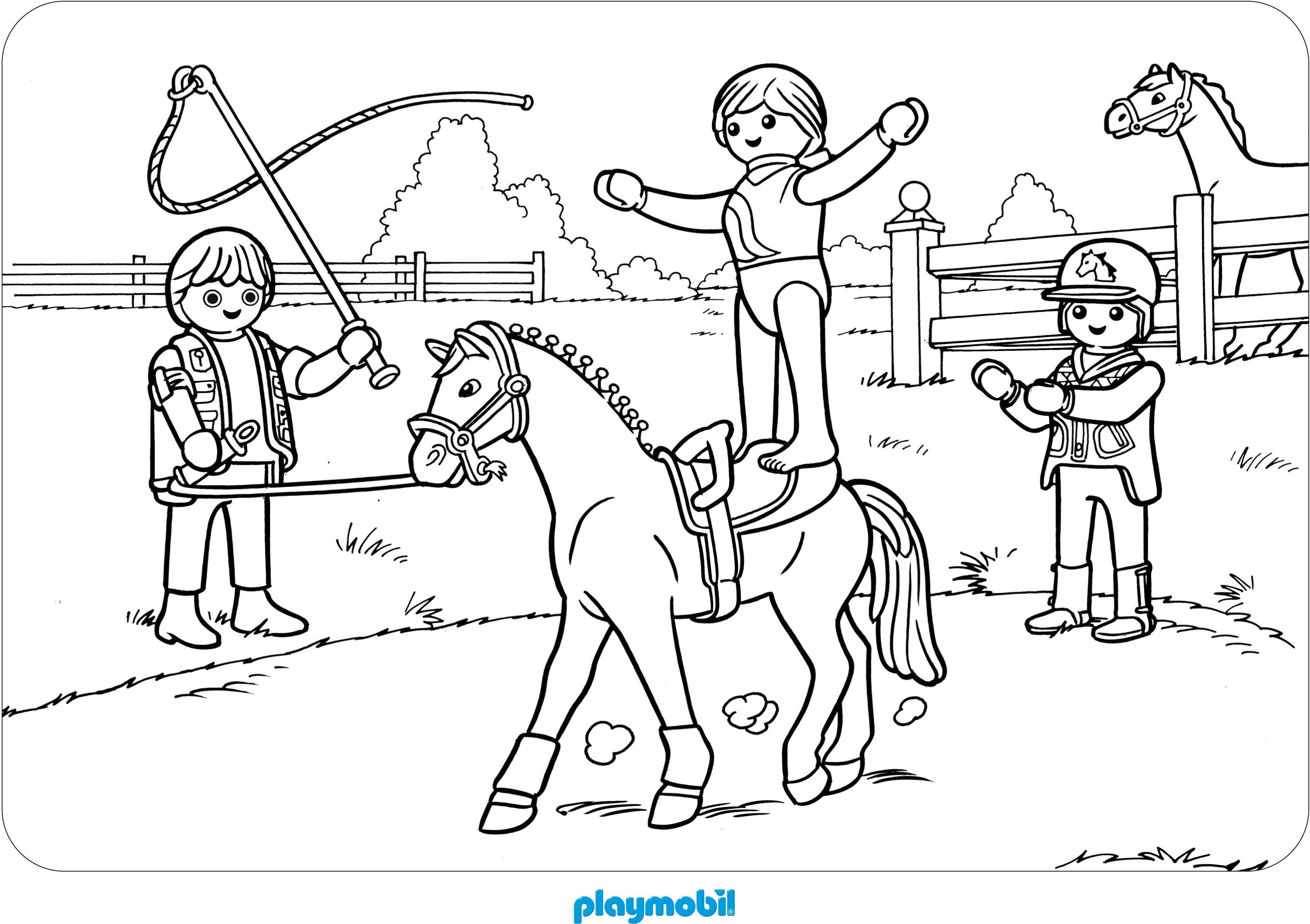 Playmobil Ausmalbilder : Playmobil Ausmalbilder Pferde Lego Ausmalbilder Pinterest