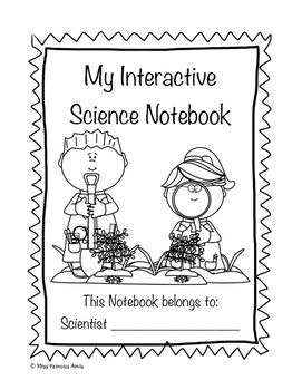 Science Notebook Cover and Dividers by JH Lesson Design | TpT |Human Studies Science Notebook Cover