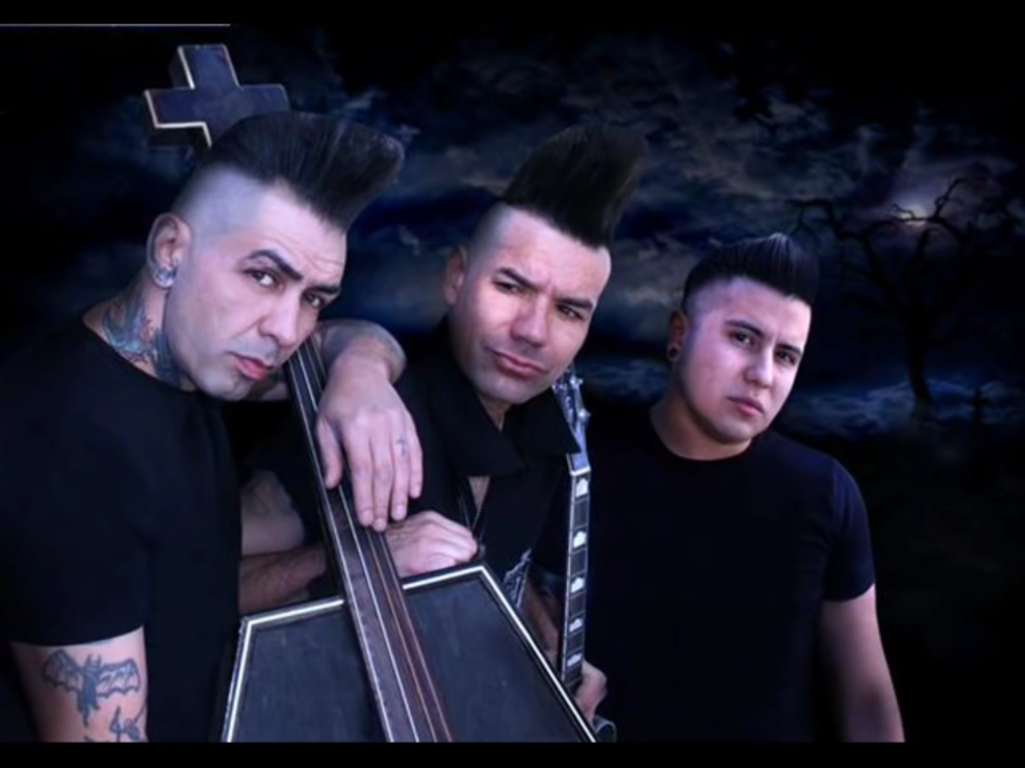 Pin by Beandip1 on Bands | Psychobilly bands, Psychobilly