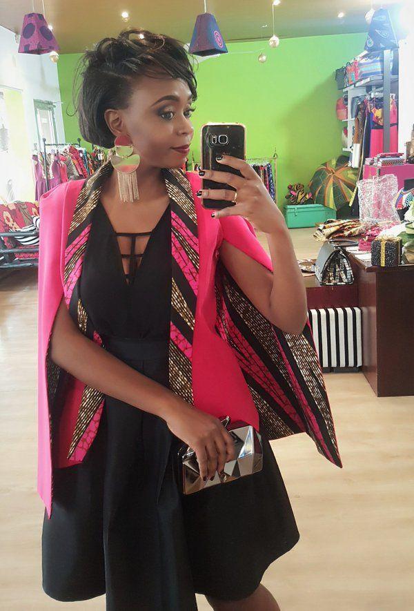 Nanawax On La Beaut 233 Africaine Robe Africaine Veste