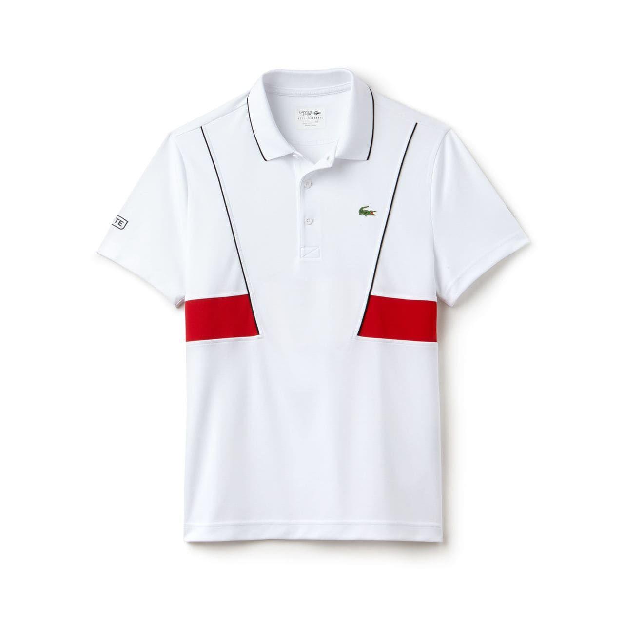 Men S Sport Tech Pique Polo Novak Djokovic Collection Lacoste Novak Djokovic Polo Lacoste Sport