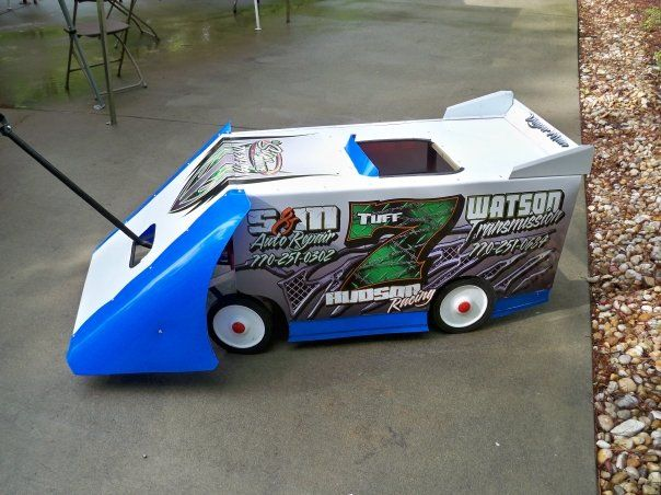 Home made race car wagon tuff boy stuff pinterest for What is dirt made out of