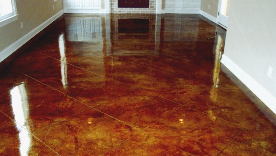 Painted concrete floors top advices for cleaning painted for Basement concrete cleaner