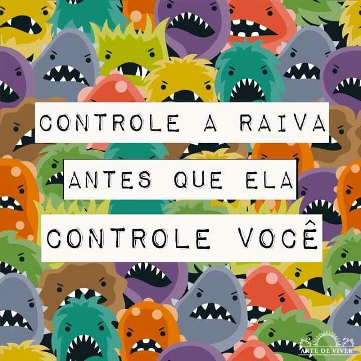 Controle  a raiva