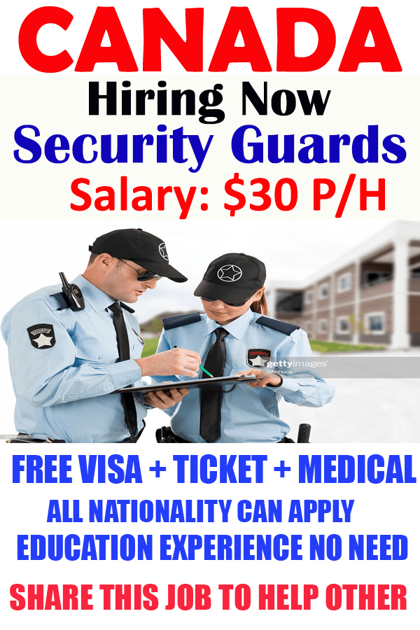 Do You Want To Apply For Security Guards In Canada Womenjobs Jobsforwomen Women Work Apply In 2020 Healthcare Jobs Security Guard Mindfulness In The Workplace