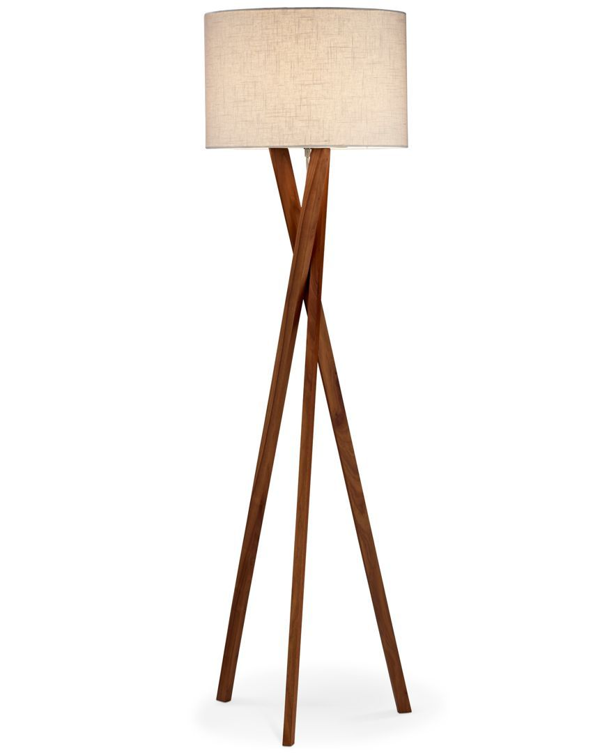 Great lamp for small spaces - wood and fire elements with a metal ...