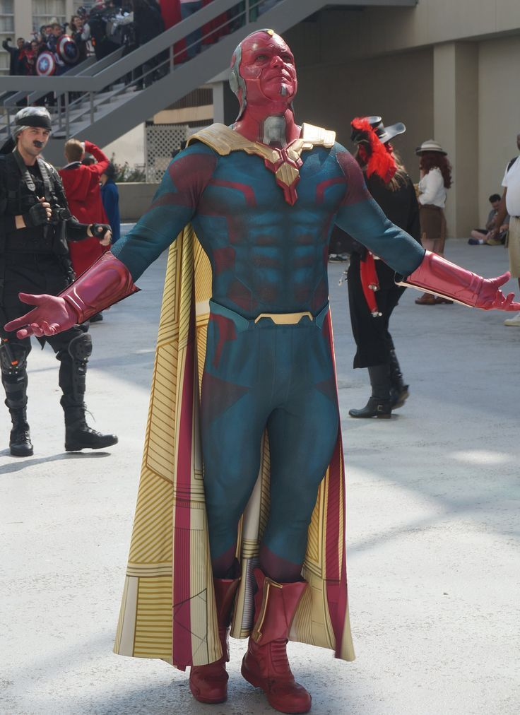 Vision | Cosplay and Steampunk | Cosplay, Superhero ...