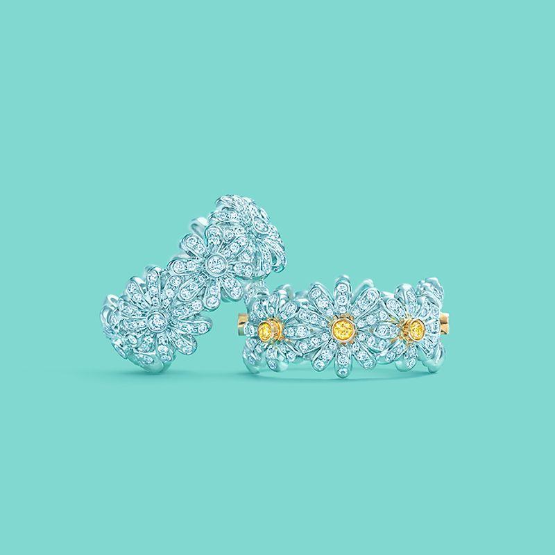 034fdcebcf40 Tiffany   Co. Schlumberger® Daisy rings