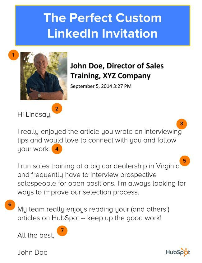 Cool how to write a custom linkedin invitation by hubspot how to write a custom linkedin invitation by hubspot learn what a perfect 60 miracle money maker stopboris Images