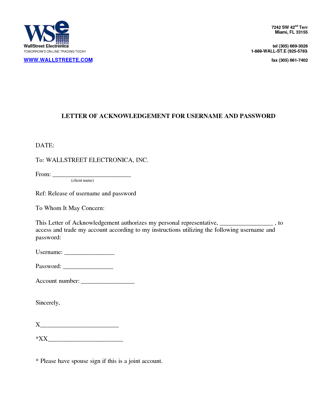 Payment Acknowledgement Letter Sample  Cover Latter Sample