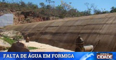 Captação de água chega ao menor nível da história de Formiga. Leia: http://goo.gl/1rFRVu