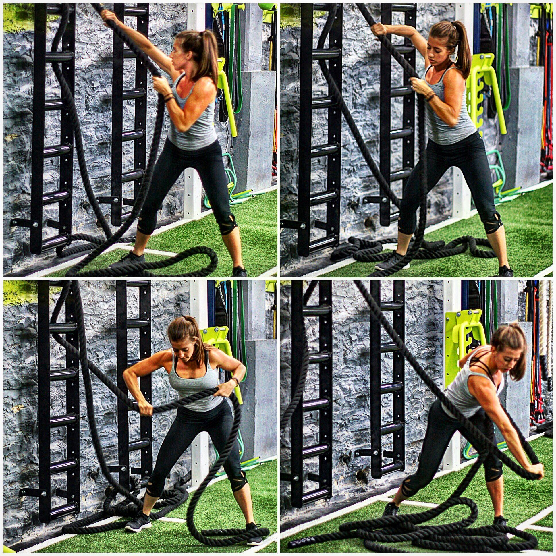 Wall Mount Rope Ladder Health Amp Fitness Sala De