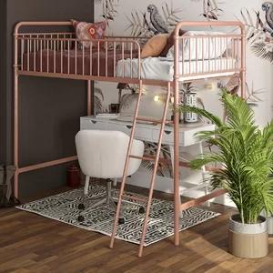 Viv Rae Angelita Twin Loft Bed Wayfair Loft Bed Frame Girls Loft Bed Loft Bed