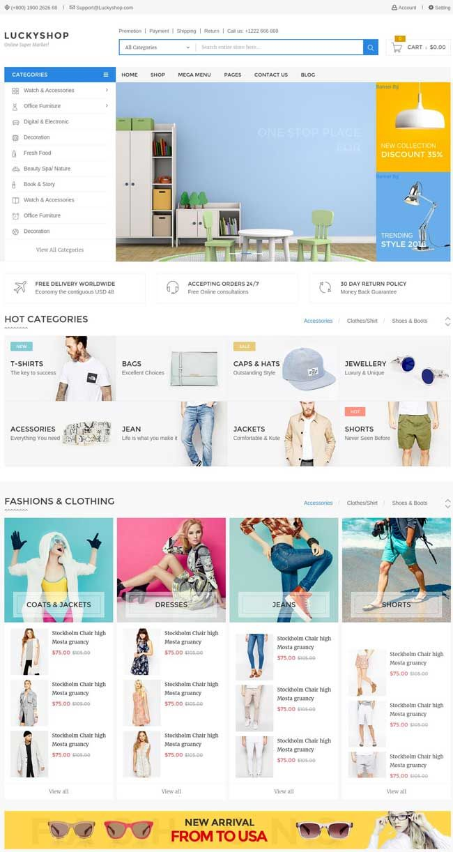 More Than 30 Best Ecommerce Responsive Html Templates 2016 A Simple Stylish And Elegant Design That Is This List