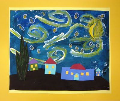 starry night by vincent van gogh great art projects for kids