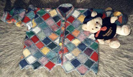 Лоскутная вязание