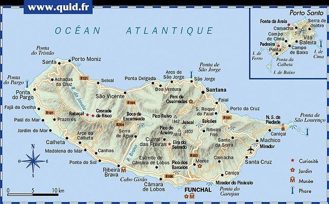 Ile De Madère Portugal île De Madères