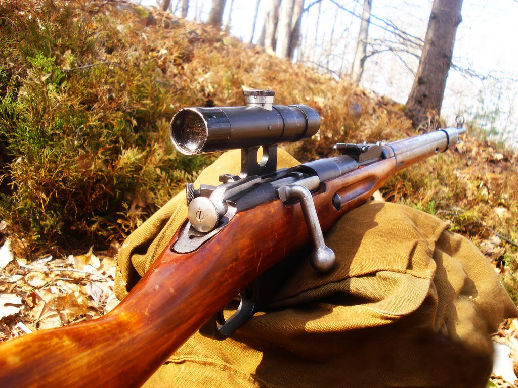 Снайперска винтовка Мосин Нагант 91/30/ #Mosin #Nagant #sniper #rifle #91/30