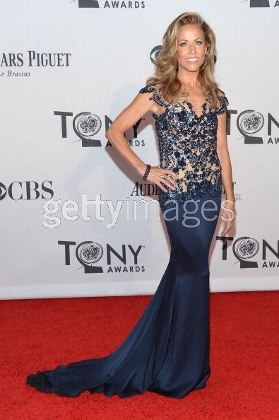 Sheryl Crow in Marchesa at the Tony Awards