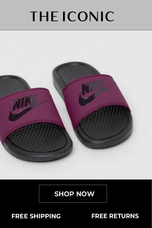 Benassi JDI Slides - Women's   Nike