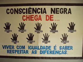 Sugestões De Painéis Para O Dia Da Consciência Negra Ideias Par