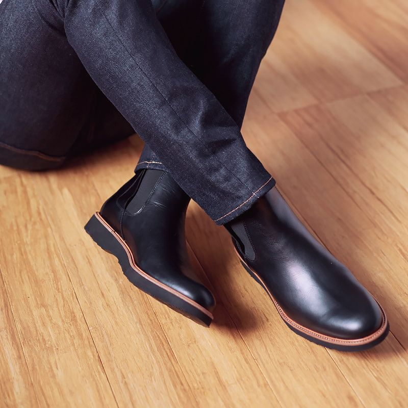 657e8540e84 The 24 Seven. Our take on the classic Chelsea Boot. | Hubbards in ...