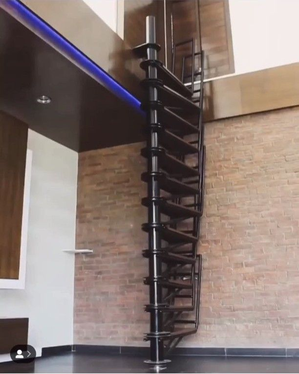 Best Love This Collapsing Spiral Staircase • • Credit Odd 640 x 480