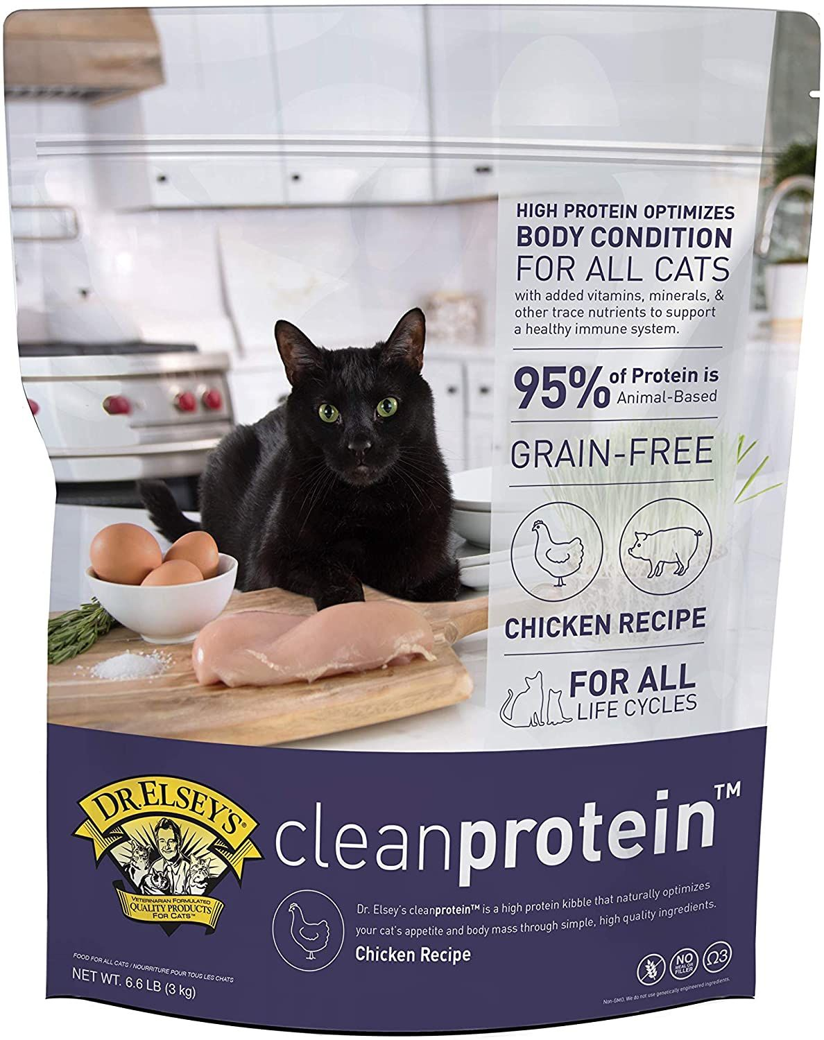 Dr Elsey S Cleanprotein Formula Dry Cat Food In 2020 Dry Cat Food Cat Food Reviews Cat Food