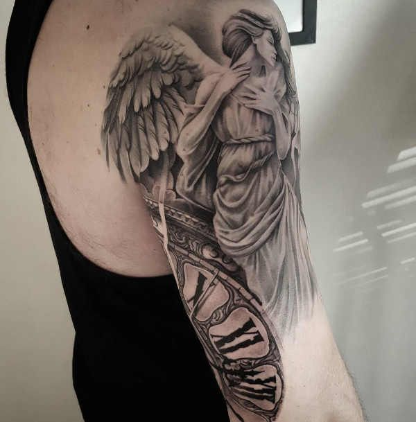 Angelo: Significato, Idee e Foto (con immagini)   Tatuaggi ...