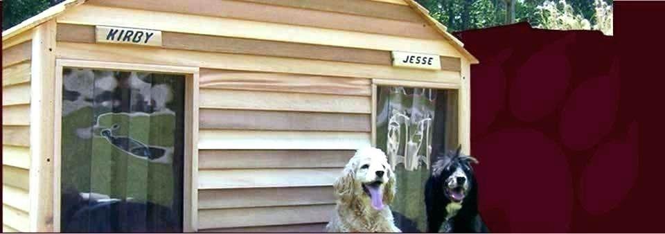 Why Does My Dog Jump On Me When I Get Home Dog House Plans Dog House Diy Custom Dog Houses