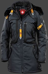 Wellensteyn Rescue Parka Lady Winter, RainbowAirTec, Midnightblue