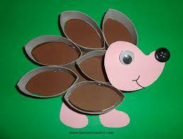 Risultati immagini per attività creative per bambini autunno