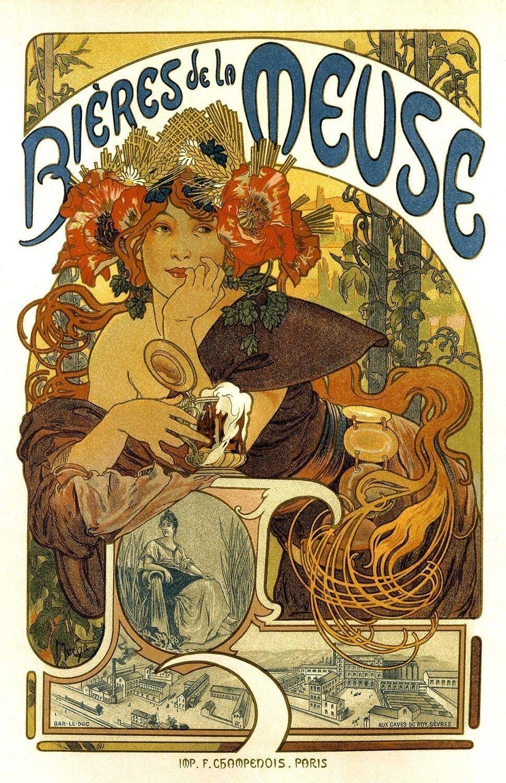 18x24 Vintage French Advertisements Poster. Art nouveau ...