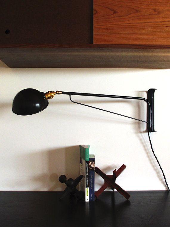 Manteau Mur Industriel Lampe 30 Poudre Noire Par Onefortythree 275 00 Lampen Projekte